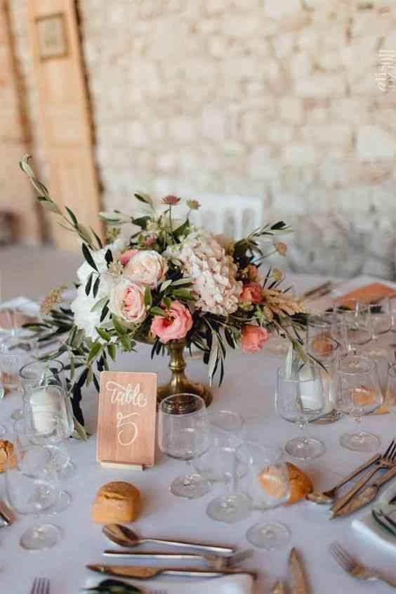 decoration mariage bouquet floral