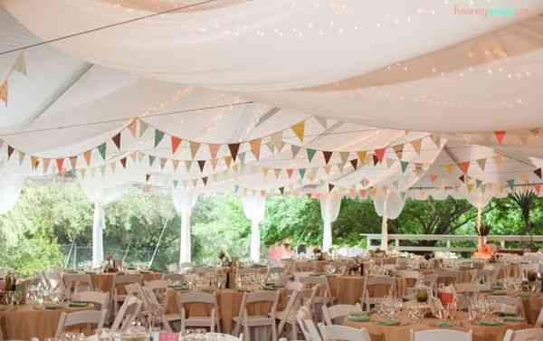 Guirlande champêtre mariage