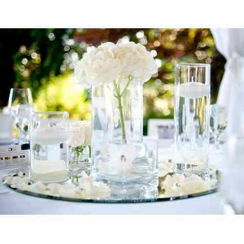 location Centre de table chic mariage