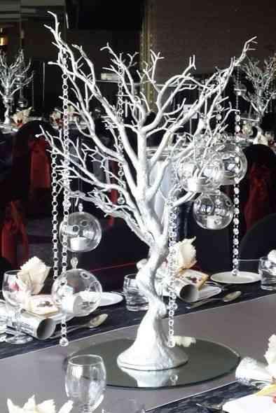 arbre artificiel décoration de mariage