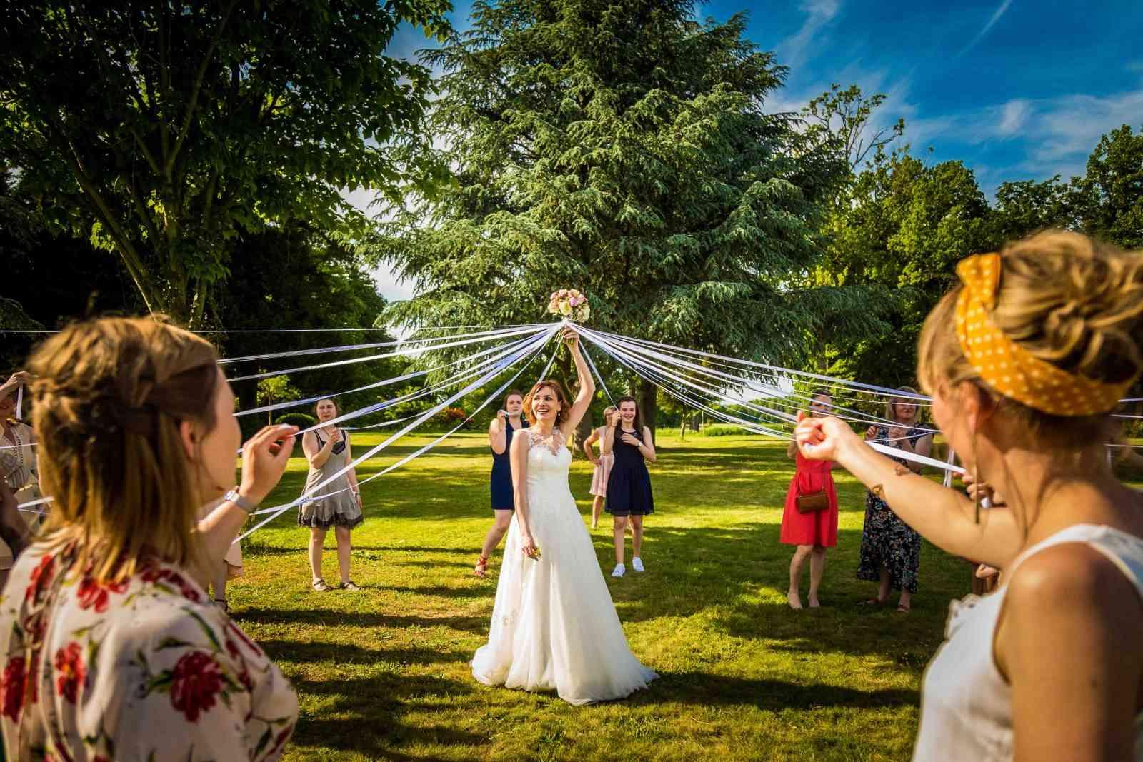 Lancer de bouquet organisation de mariage rennes